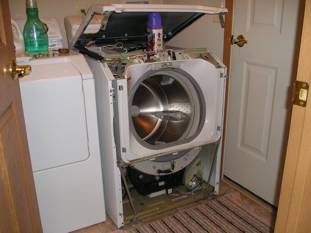 Maytag Neptune Washer Disassembly Pics